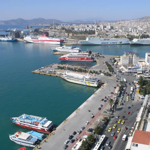 Port de commerce, Grèce